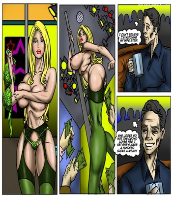 Recession Blues – Wife Forced To Strip Sex Comic sex 10