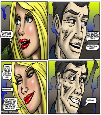 Recession Blues – Wife Forced To Strip Sex Comic sex 15