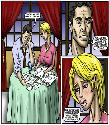 Recession Blues – Wife Forced To Strip Sex Comic sex 2