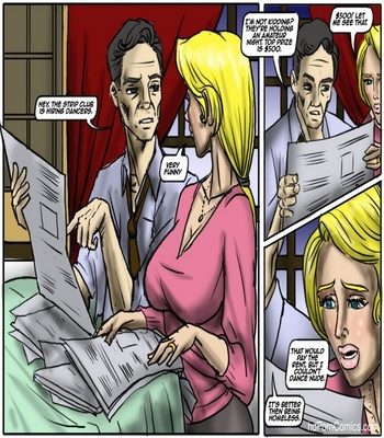Recession Blues – Wife Forced To Strip Sex Comic sex 3