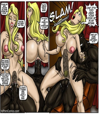 Recession Blues – Wife Forced To Strip Sex Comic sex 34