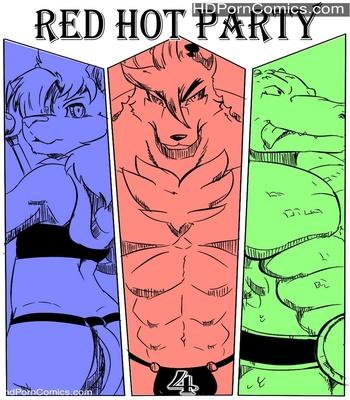 Porn Comics - Red Hot Party 4 Sex Comic