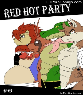 Porn Comics - Red Hot Party 6 Sex Comic