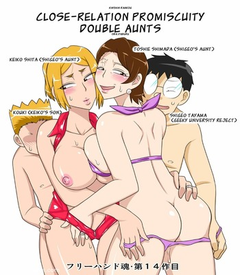 Relationship Promiscuity – Double Aunts12 free sex comic