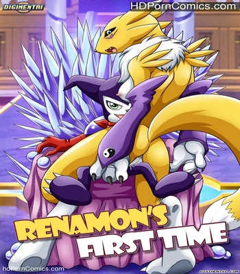 Porn Comics - Renamon's First Time Sex Comic