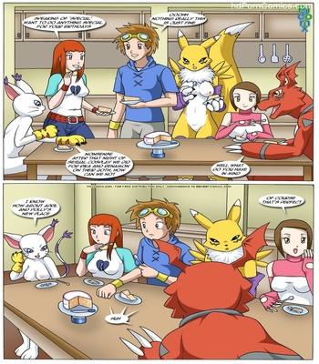 Rika And Renamon's Blues Pokemon Hentai Comic sex 4