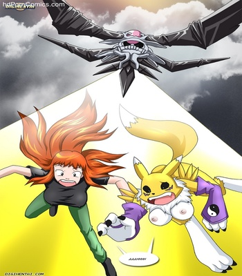 Rika And Renamon's Blues Pokemon Hentai Comic sex 40