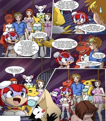 Rika And Renamon's Blues Pokemon Hentai Comic sex 87