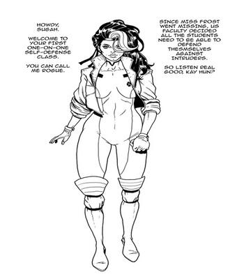 Rogue VS The Bimbo Toxin 2 free sex comic