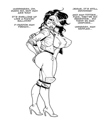 Rogue VS The Bimbo Toxin 4 free sex comic