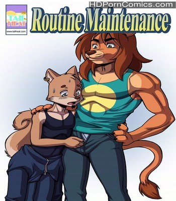 Porn Comics - Routine Maintenance Sex Comic