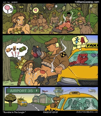 Rumble In The Jungle Sex Comic