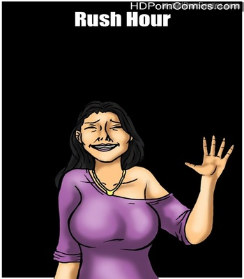 Porn Comics - Rush Hour Sex Comic