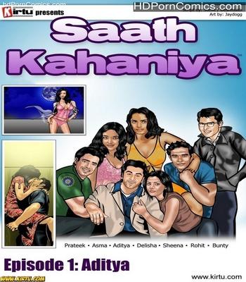 Porn Comics - Saath Kahaniya 1 – Aditya Sex Comic