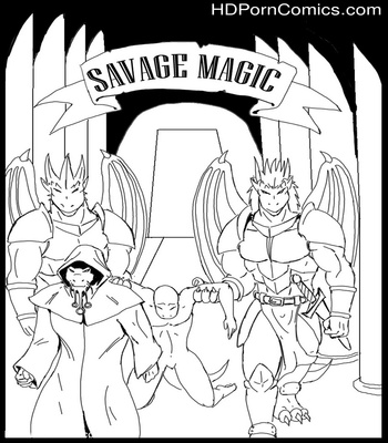 Porn Comics - Savage Magic Sex Comic