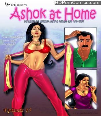 Porn Comics - Savita Bhabhi 15 – Ashok At Home Sex Comic