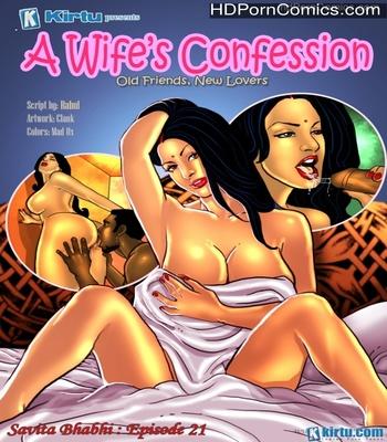 Porn Comics - Savita Bhabhi 21 – A Wife's Confession Porn Comic