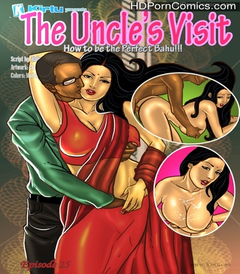 Porn Comics - Savita Bhabhi 25 – The Uncle's Visit