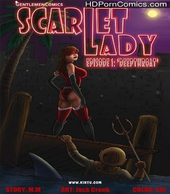 Porn Comics - Scarlet Lady 1 – Deepthroat Sex Comic