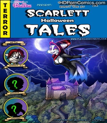 Porn Comics - Scarlett Halloween Tales Sex Comic