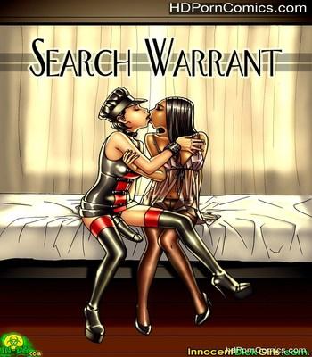 Porn Comics - Search Warrant Sex Comic