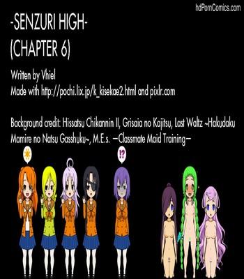 Senzuri High 6 Sex Comic