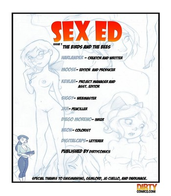 Sex Ed Sex Comic