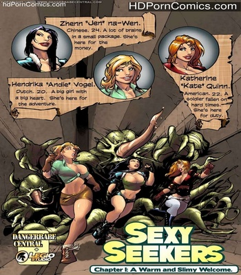 Sexy Seekers 1 – A Warm And Slimy Welcome comic porn