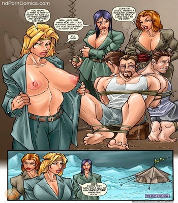 Sexy Seekers 1 - A Warm And Slimy Welcome comic porn