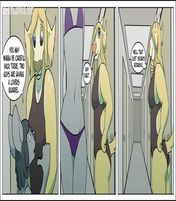 Ship Tease 9 free sex comic