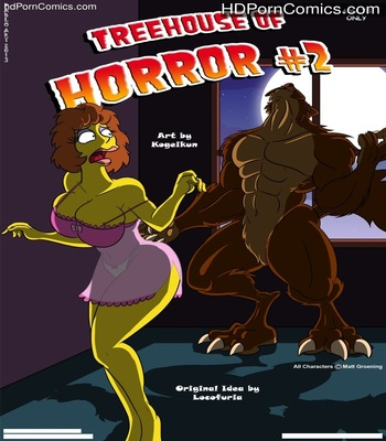 Porn Comics - Simpsons- Treehouse of Horror 1-2 free Cartoon Porn Comic