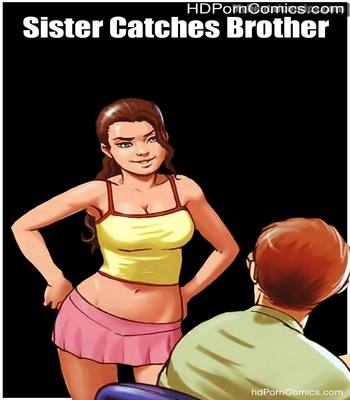 Sister-Catches-Brother1 free sex comic