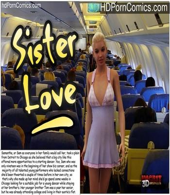 Porn Comics - Sister Love Sex Comic