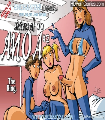Porn Comics - Sisters Of Anoa 2 – The Ring Sex Comic