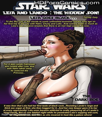 Smudge – Leia and Lando Star Wars free Porn Comic