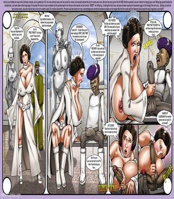 Smudge – Leia and Lando Star Wars free Porn Comic