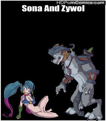 Porn Comics - Sona And Zywol Sex Comic