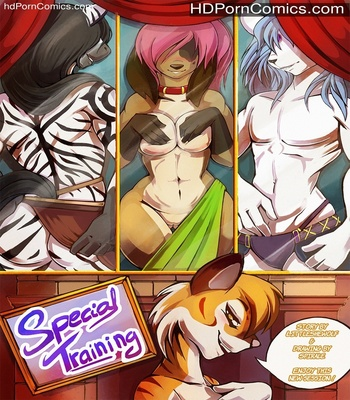 Porn Comics - Special Training Sex Comic