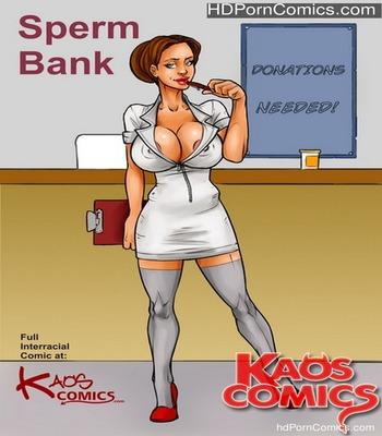Porn Comics - Spermbank 1 Sex Comic
