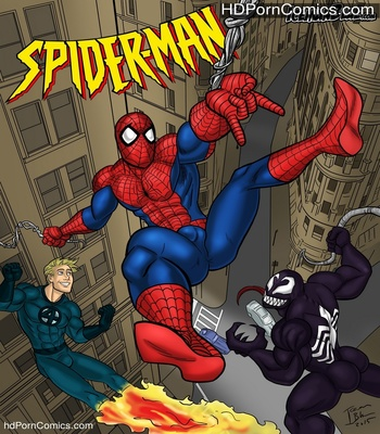 Porn Comics - Spider-Man Sex Comic