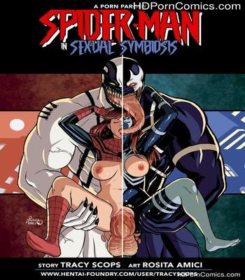 Porn Comics - Spider-Man Sexual Symbiosis 1 Sex Comic