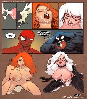 Spiderbang Sex Comic
