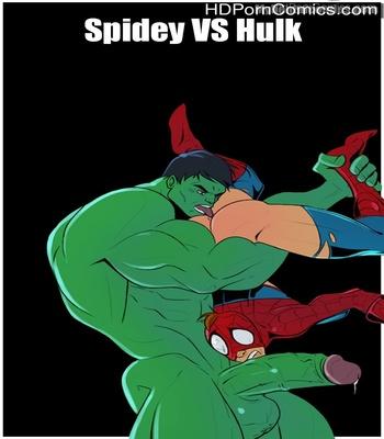 Porn Comics - Spidey VS Hulk Sex Comic