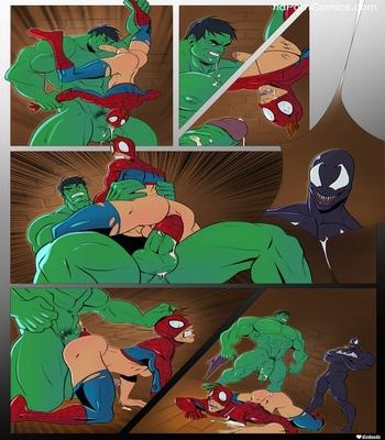 Spidey VS Hulk Sex Comic