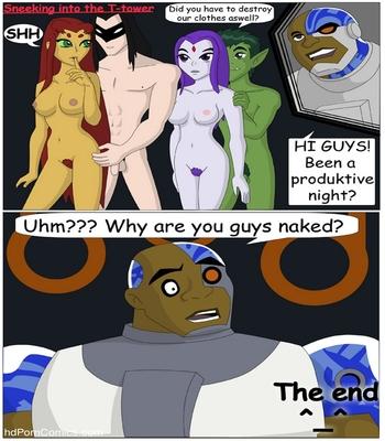 Spying Sex Comic