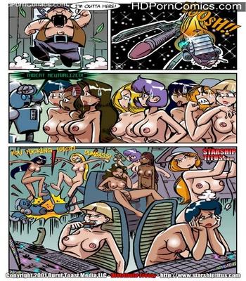 Starship Titus 1 - Here Cums Captain Blarney Sex Comic