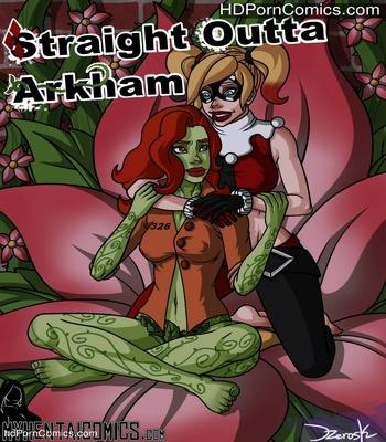 Porn Comics - Straight Outta Arkham Sex Comic