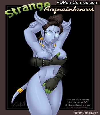 Porn Comics - Strange Acquaintances Sex Comic