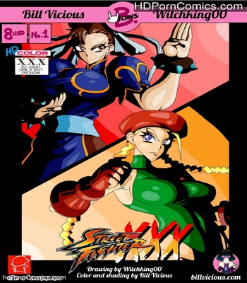 Porn Comics - Street Fighter XXX 1 Sex Comic