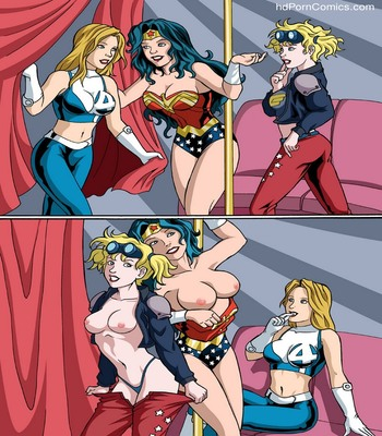 Stripping Heroines 2 free sex comic